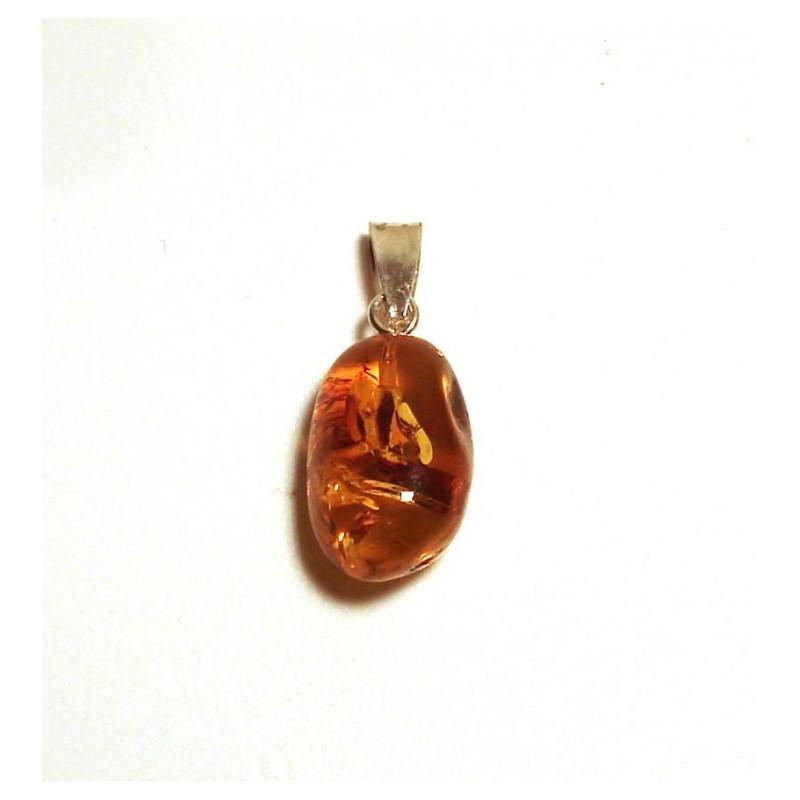 bca4afb3977 Pendentif ambre argent 925 00 - Femme - Pendentif