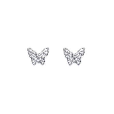 boucle d'oreille papillon femme