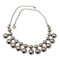Collier plastron grappe collection BOUBOULES