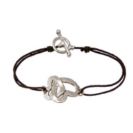 Bracelet type lien cordon collection SWEET LOVE