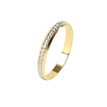 Trouvez l'alliance en or 18 carats pour votre mariage ou