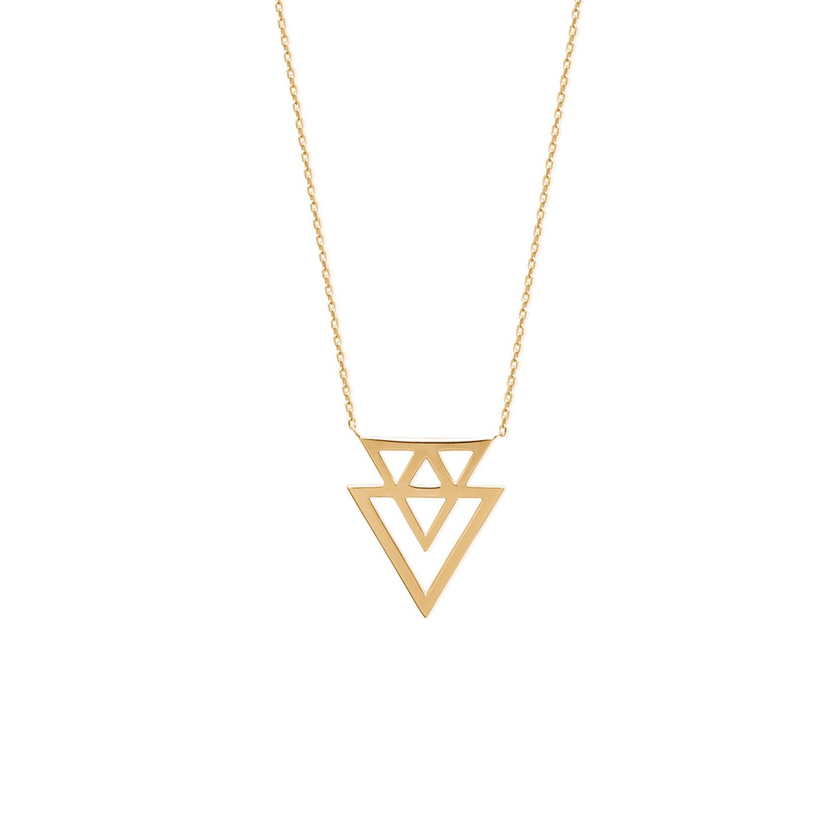 collier femme 3 chaines