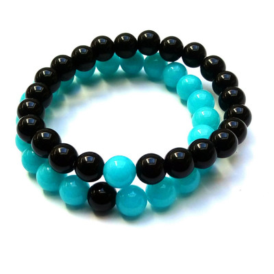 1e72314cb Lot de 2 Bracelets élastique duo