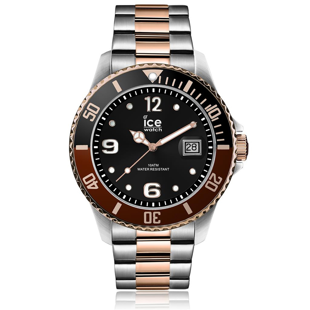 Montre Ice Watch Ice Steel Silver rose-gold Médium