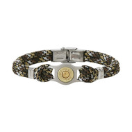 Bracelet homme Elden acier cordon multicolore collection Bang Bang
