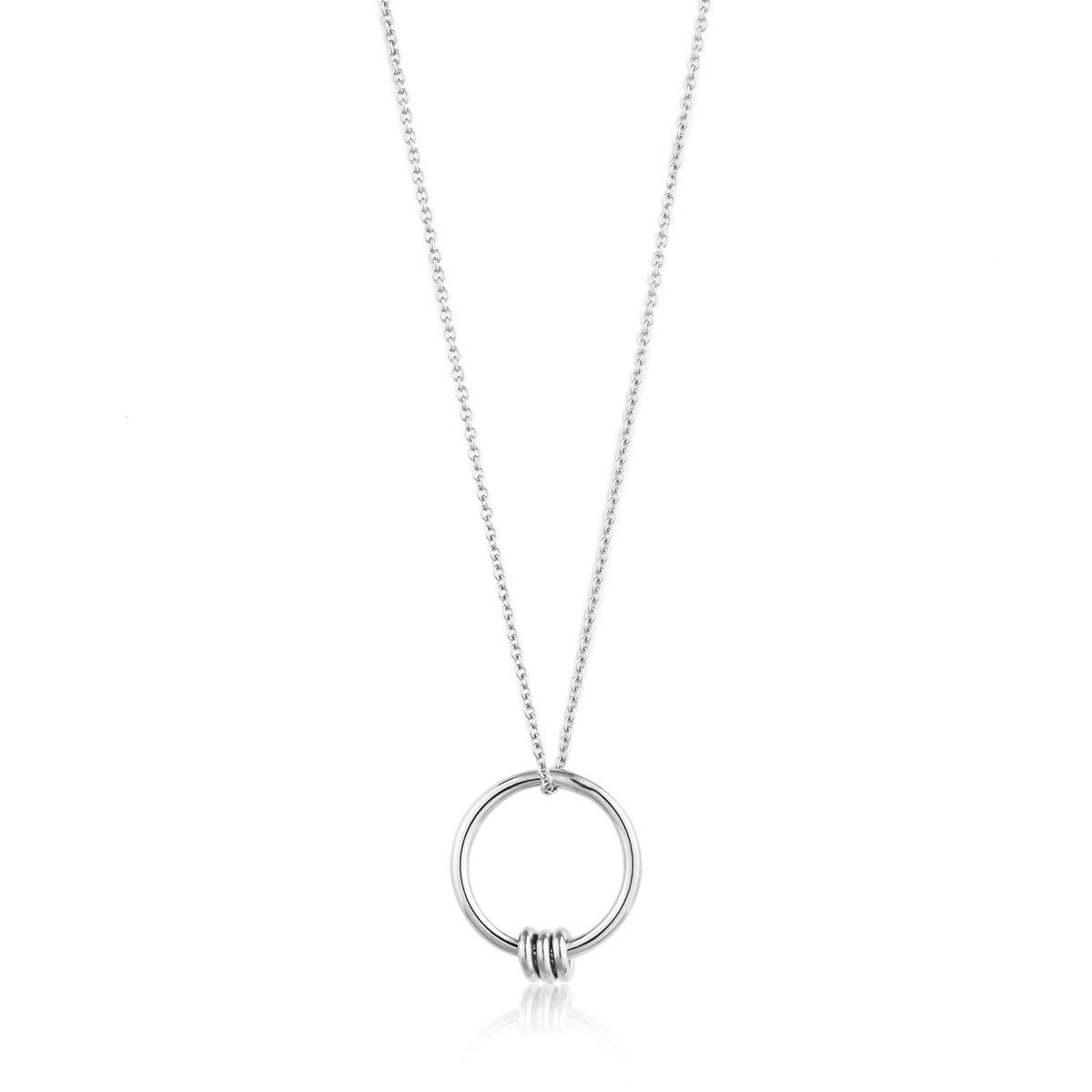 collier femme 3 anneaux