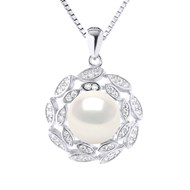 Collier Perle de Culture d'Eau Douce 9-10 mm