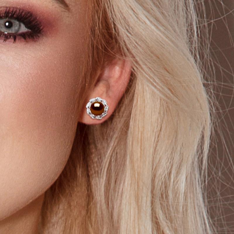 boucle d'oreille 9mm