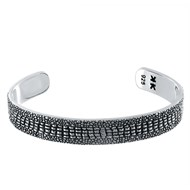 Bracelet rigide Silver Stingray