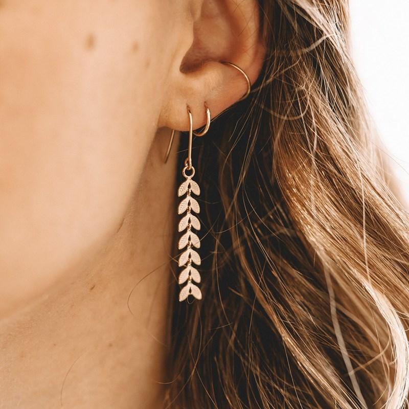 boucle d'oreille a la mode
