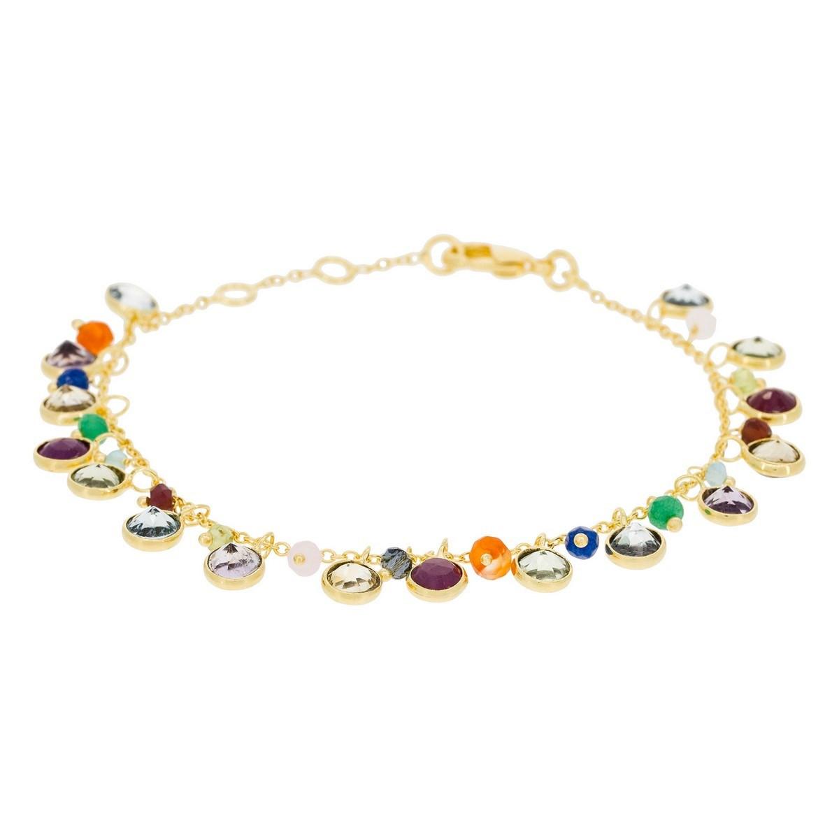 bracelet homme quartz rose
