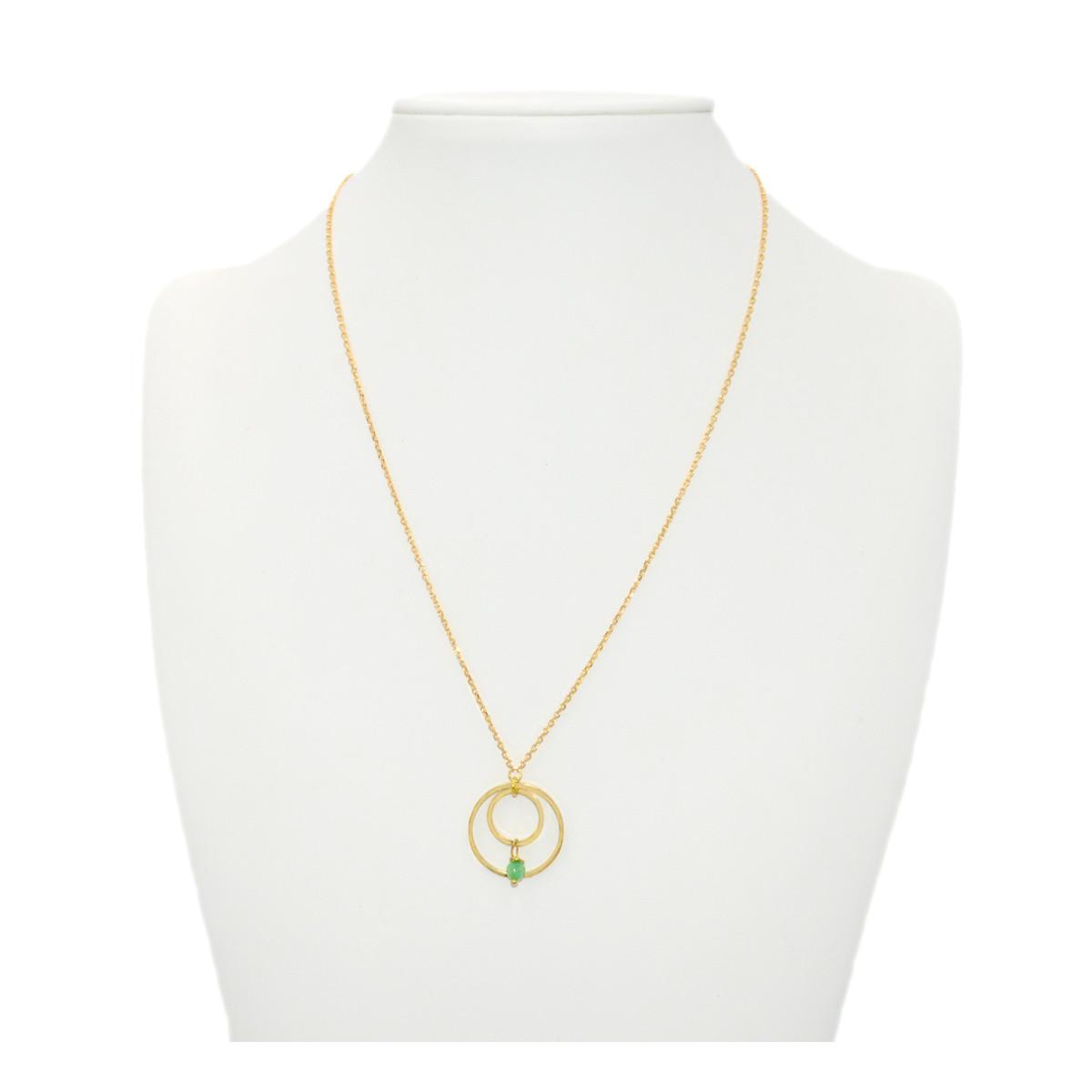 """35/"""" Vert Agate Noir Perle Chaîne Collier Vert jade buddha pendentif"""