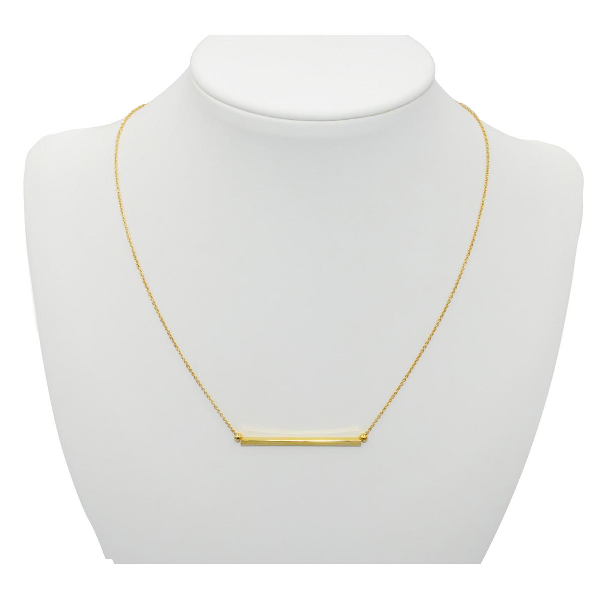 collier minimaliste femme