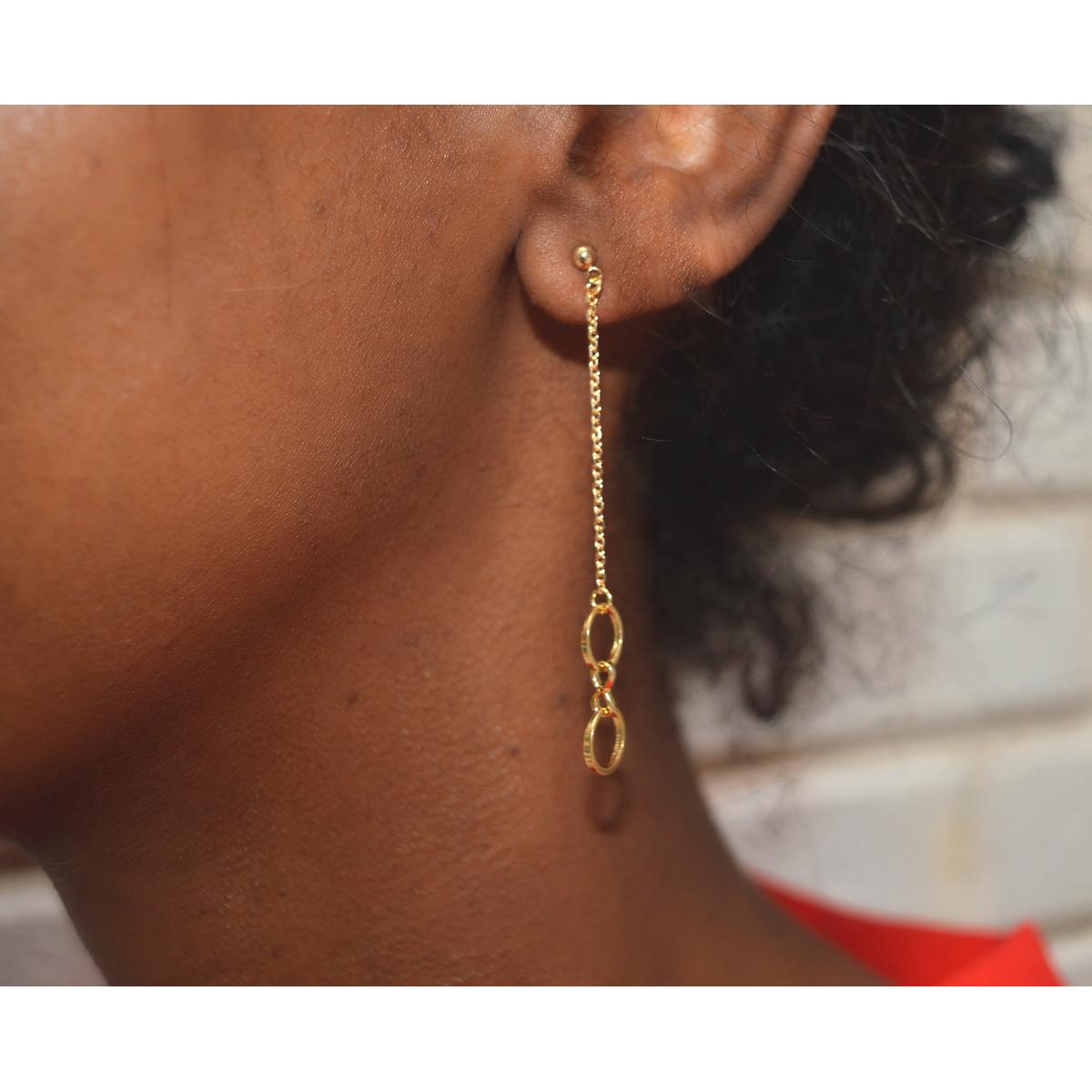 boucle d'oreille petit anneau