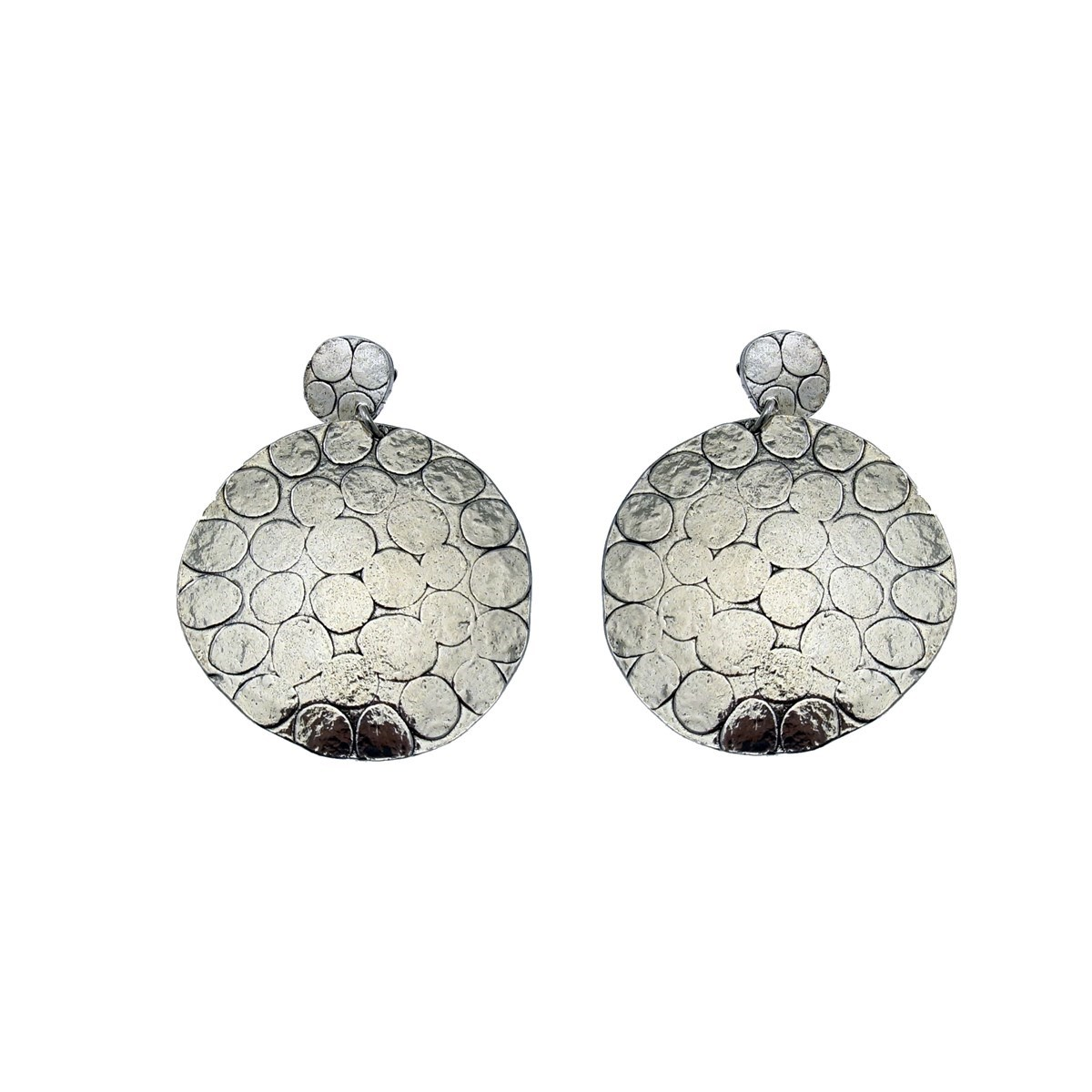 Clous d'oreilles  pendantes XL collection LEO - vue V1