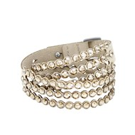 Bracelet Swarovski Power Collection Slake beige