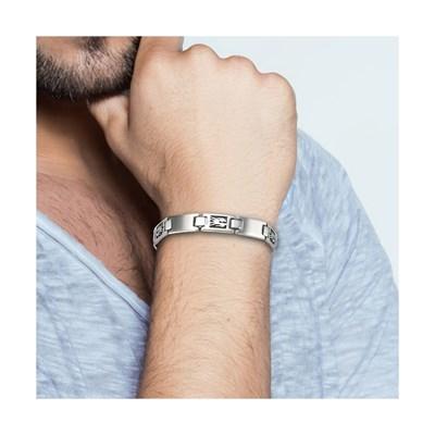 bracelet homme moustache