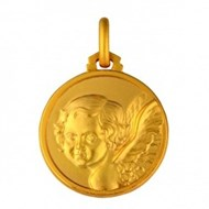 Medaille  Anges or 417 jaune