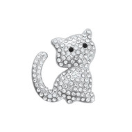 Broche aimantée Chat