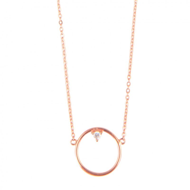 Collier ANÄU Paris en Vermeil Rose - vue V1