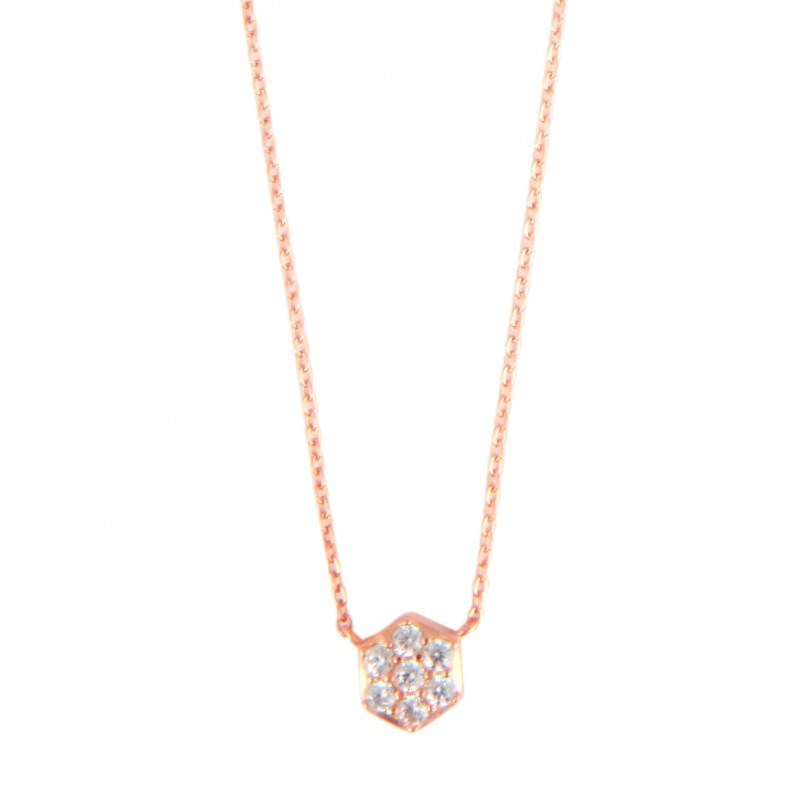 Collier ANÄU Paris en Vermeil Rose