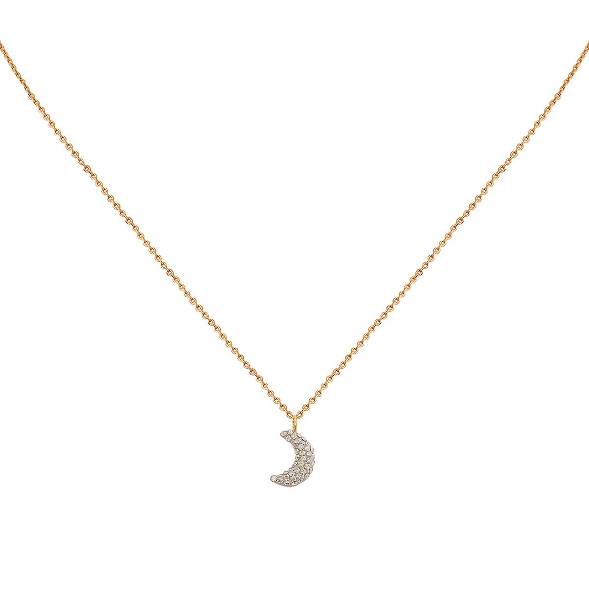 Collier doré KUCHI Moon gold - vue V1