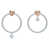 Boucles d'oreilles Swarovski Lifelong Heart