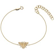 Bracelet abeille en or 375/1000