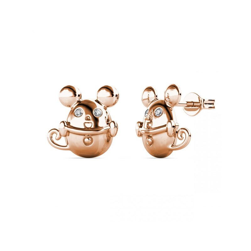 Boucles d'oreilles Mice in the Cup - vue V1