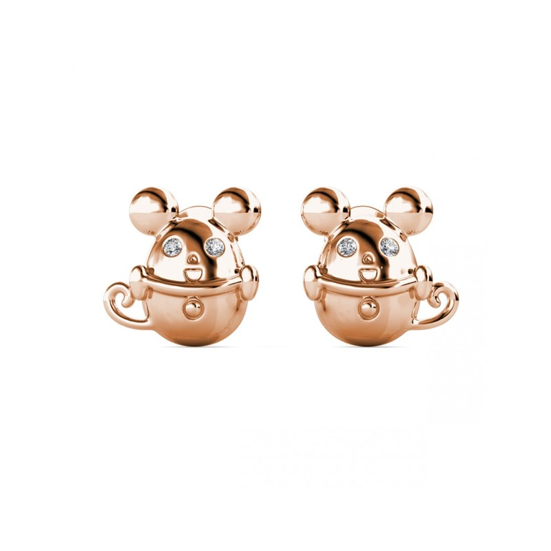Boucles d'oreilles Mice in the Cup - vue V2