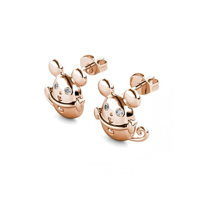 Boucles d'oreilles Mice in the Cup - vue V3