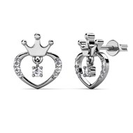 Boucles d'oreilles Lovely Crown