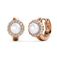 Boucles d'oreilles Blooming Pearl