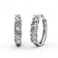 Boucles d'oreilles Queen's Ring