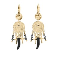 Boucles d'oreilles Hipanema Chapel Black