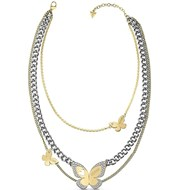 Guess - Collier femme papillons