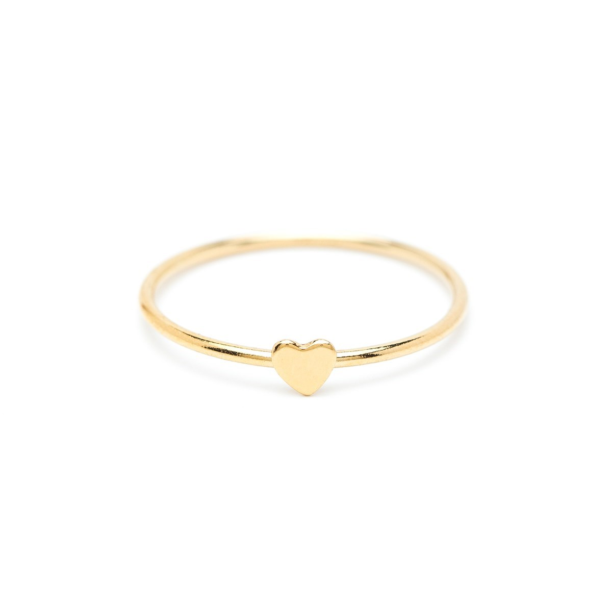 Bague Gold filled Mini coeur Summer Love - vue V1