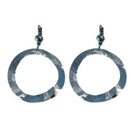 Boucles d'oreilles dormeuses TINA, Made in France