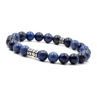 Bracelet deep blue 8 mm