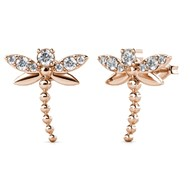 Boucles d'oreilles Little Dragonfly