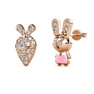 Boucles d'oreilles Little Rabbit