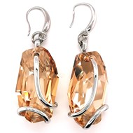Boucles d'oreilles Marazzini Meteo Golden Shadow