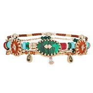 Bracelet Hipanema Sherpa green M