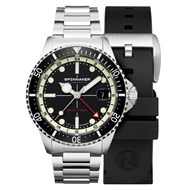 Spinnaker - TESEI MILLE METRI GMT - MIDNIGHT BLACK - SP-5091-11